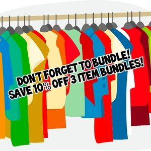 Save 10% on 3 item bundles